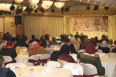 الشعبية في نابلس تنظم ندوة سياسية بعنوان القضية الفلسطينية إلى أين ؟ (71)