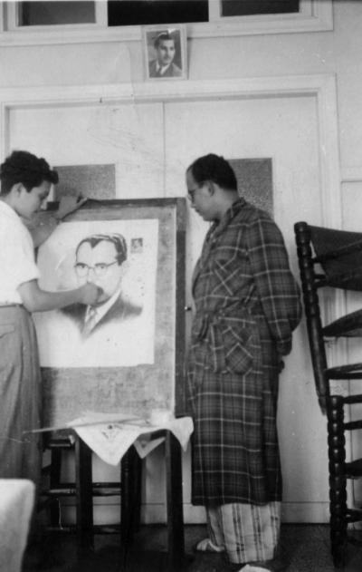صور نادرة للشهيد القائد غسان كنفاني  (27)