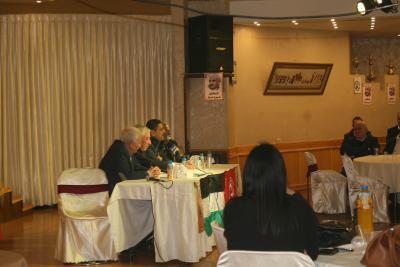الشعبية في نابلس تنظم ندوة سياسية بعنوان القضية الفلسطينية إلى أين ؟ (83)