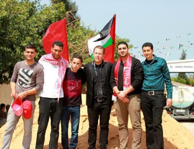 فعاليات جبهة العمل في جامعات غزة _ تصوير خالد ابو الجديان (29084559) 