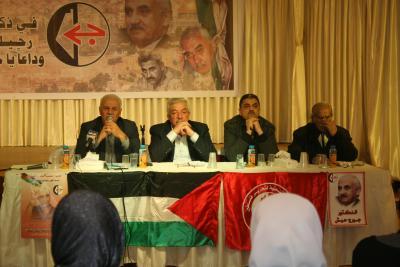 الشعبية في نابلس تنظم ندوة سياسية بعنوان القضية الفلسطينية إلى أين ؟ (41)
