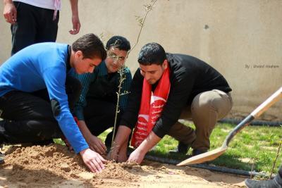 فعاليات جبهة العمل في جامعات غزة _ تصوير خالد ابو الجديان (29084558) 