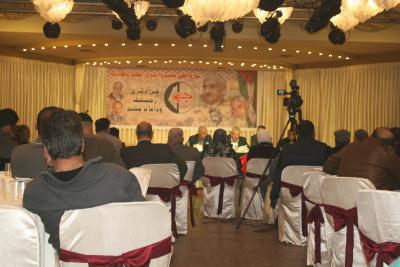 الشعبية في نابلس تنظم ندوة سياسية بعنوان القضية الفلسطينية إلى أين ؟ (77)