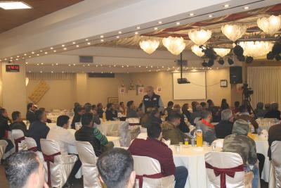 الشعبية في نابلس تنظم ندوة سياسية بعنوان القضية الفلسطينية إلى أين ؟ (72)