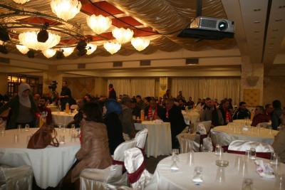 الشعبية في نابلس تنظم ندوة سياسية بعنوان القضية الفلسطينية إلى أين ؟ (4)