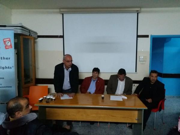 rafah-meetings