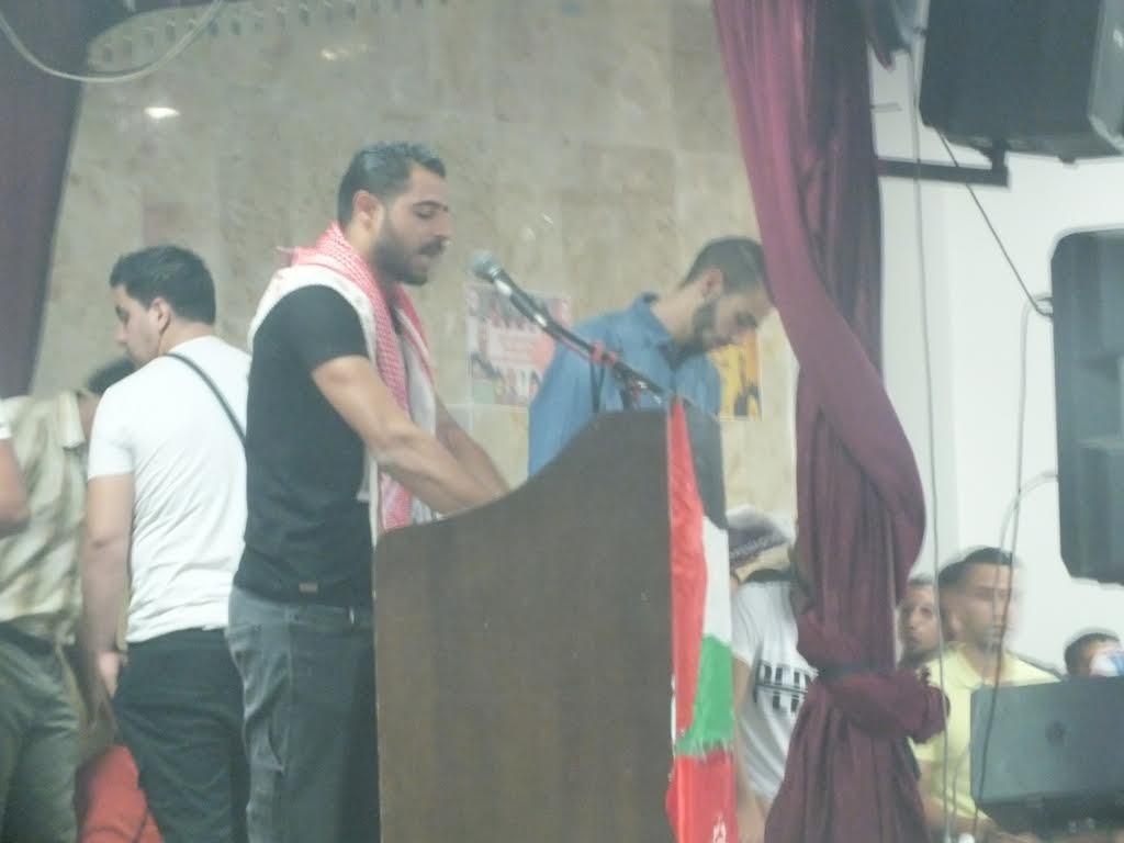 احياء ذكرى معتز زواهرة 14